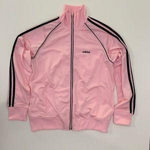 Pink & Black Original Trefoil Adidas Jacket